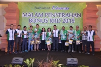 Pemberian Bonus RRD Th 2015